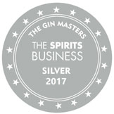 Gin Masters Spirits Business Silver Medal 2017