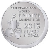 San Francisco World Spirits Competition 2015 Silver Medal