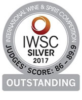 International Wine and Spirit Competition Quality Award 2017 Silver Medal