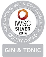 International Wind and Spirit Competition Gin and Tonic Quality Award 2016 Silver Medal